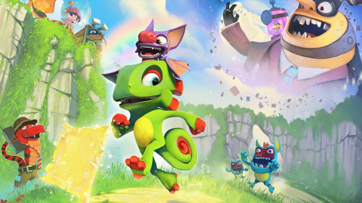 Yooka-Laylee to have several big updates before it hits the Switch