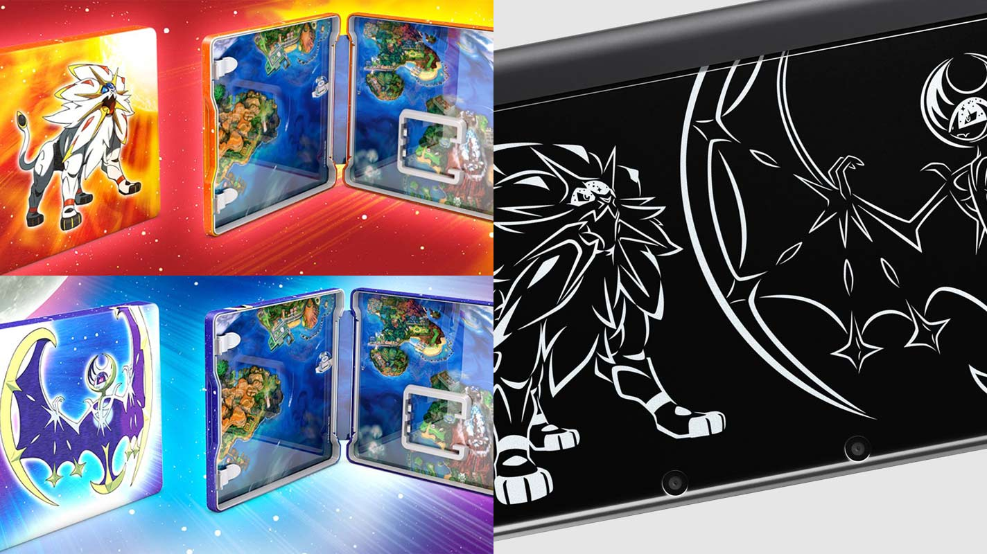 Special Edition Pokmon Sun And Moon Games And New 3DS XL