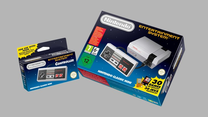 The Nintendo Classic Mini: Nintendo Entertainment System is a baby NES with 30 built-in games