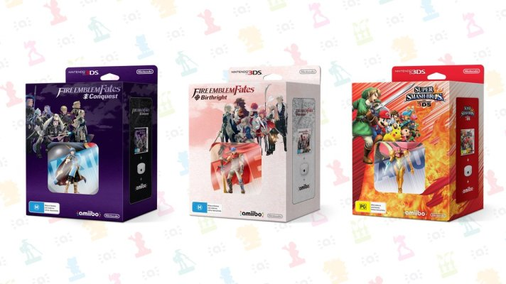 Smash Bros, Fire Emblem Fates coming with amiibo + reader bundles this September