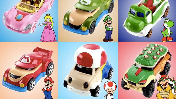 New Super Mario Hot Wheels on the way in North America