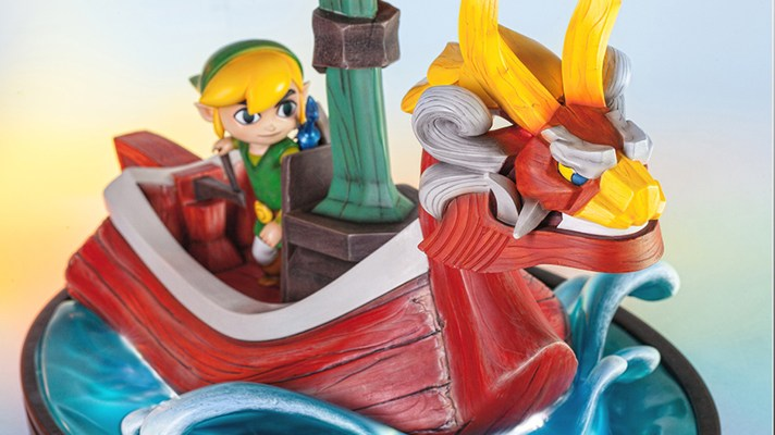 First look at First 4 Figures Link on The King of Red Lion statue