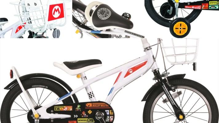Licensed Mario Kart kids bike available now in Japan
