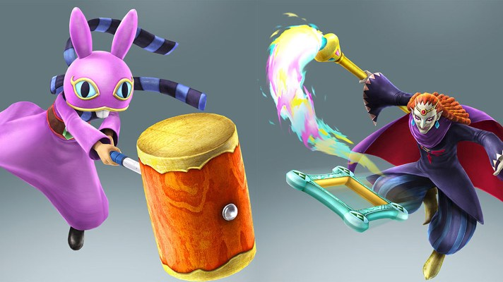 Ravio And Yuga from A Link Between Worlds coming to Hyrule Warriors
