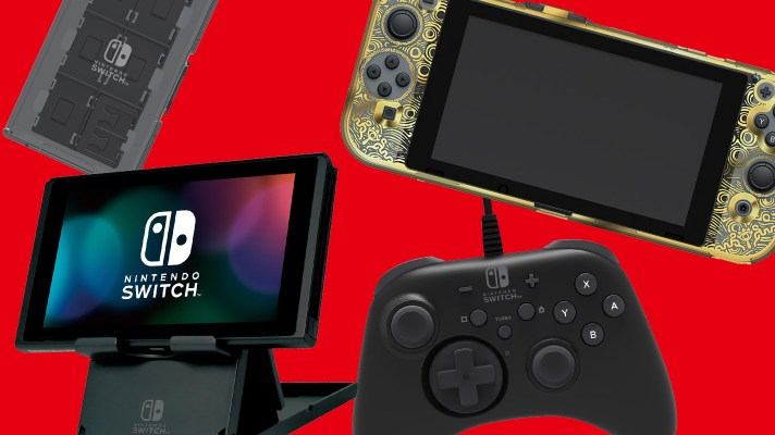 First Hori accessories for Nintendo Switch outed