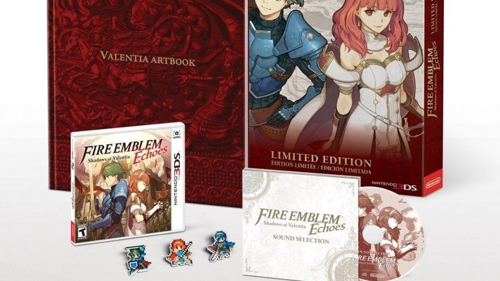 Fire Emblem Echoes: Shadows of Valentia Limited Edition announced