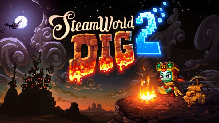 SteamWorld Dig 2 digs its way to Nintendo 3DS next week