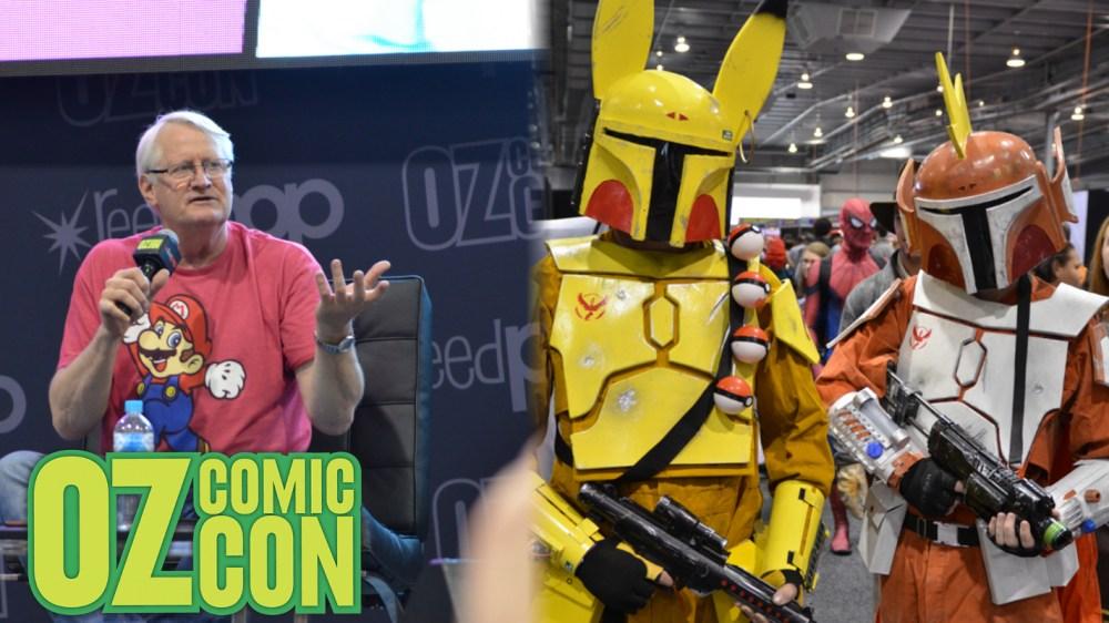 2017 Adelaide Oz Comic-Con Banner