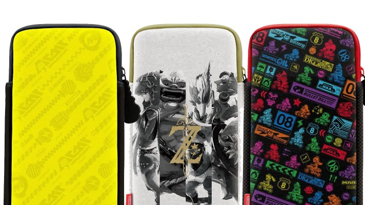Nintendo releasing Switch cases with Breath of the Wild, Mario Kart 8 Deluxe and ARMS designs