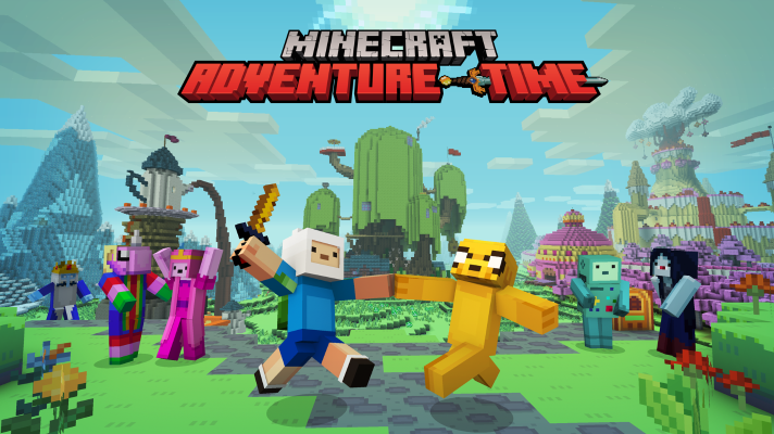 Adventure Time and Magic The Gathering out now for Minecraft on consoles