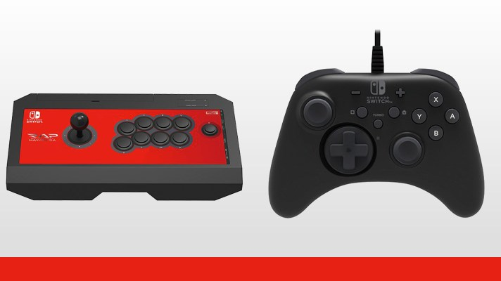 HORI's Real Arcade Pro V & Pro Controller alternative for Switch coming in July