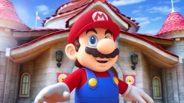 Super Nintendo World construction officially starts at Universal Studios