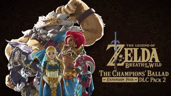 Nintendo Shows Off New Footage of Breath of the Wild's Champion DLC