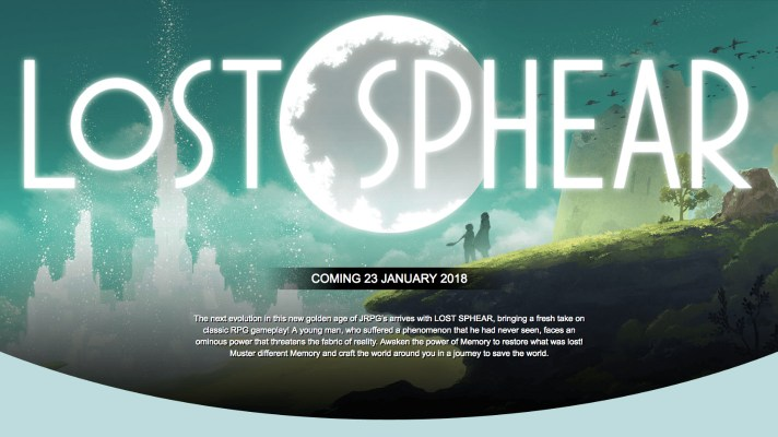 Lost Sphear Releases on 23rd of January 2018