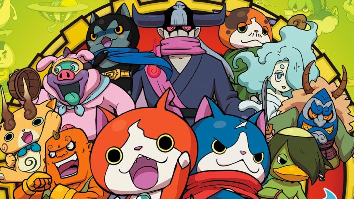 The next Yo-kai Watch game will be on Switch