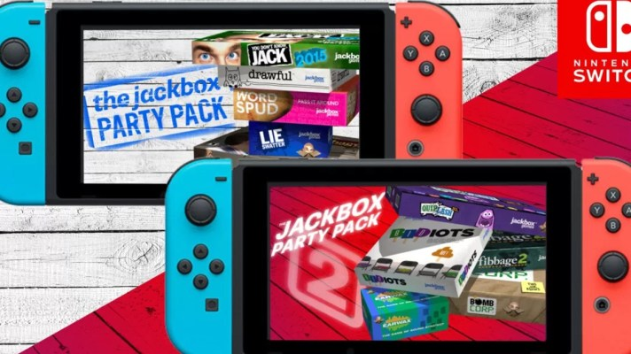 Jackbox Party Pack 1 and 2 out August 17th on Switch, Jackbox 4 confirmed as well