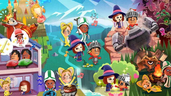Miitopia comes to Switch this May