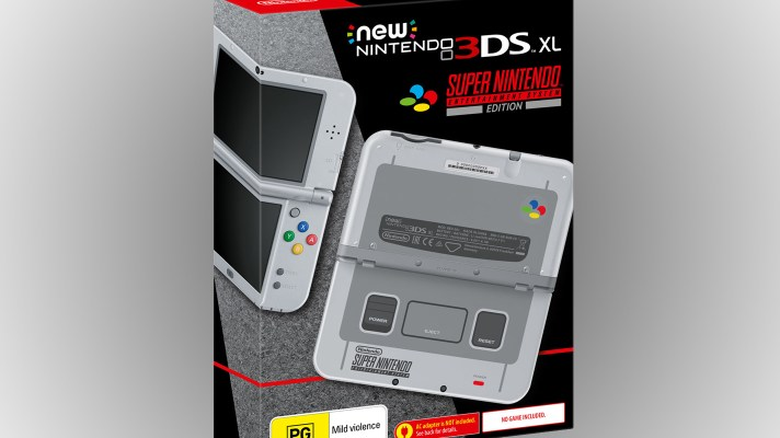 New 3DS XL Super Nintendo Entertainment System Edition coming to Australia in October