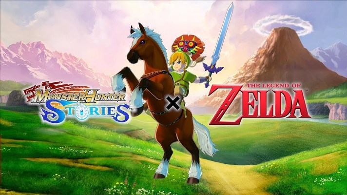The Monster Hunter Stories x The Legend of Zelda DLC available this week