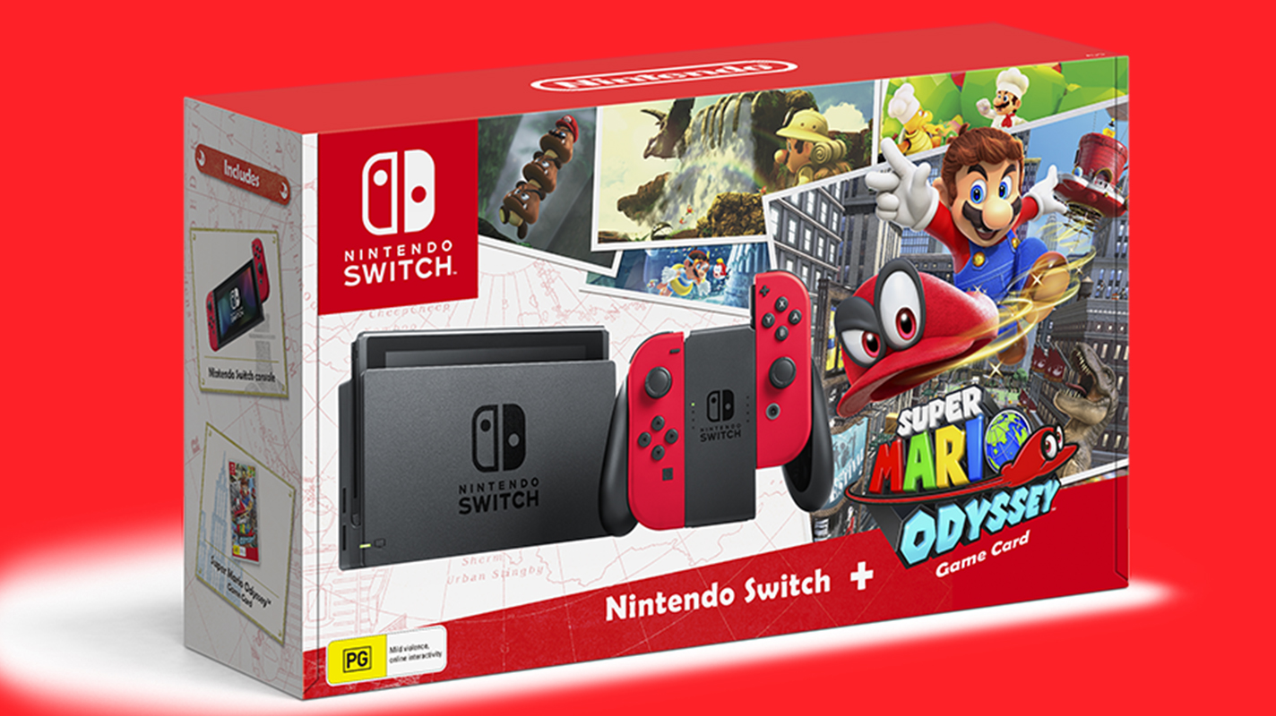 EB Games Has The Super Mario Odyssey Switch Bundle Listed