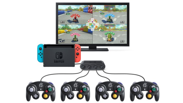 You can now play Switch games using a GameCube controller