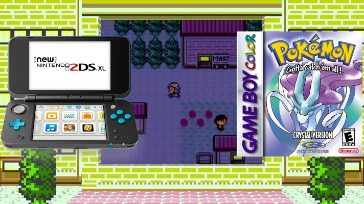 Pokémon Crystal is coming to 3DS Virtual Console on January 26th