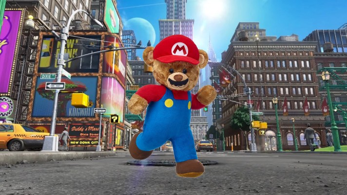 Build-A-Bear Workshop introduces Super Mario plushies