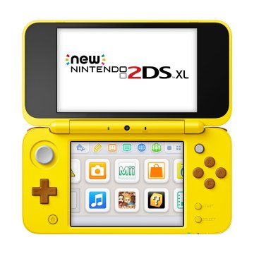 New Nintendo 2DS XL Pikachu Edition - Open