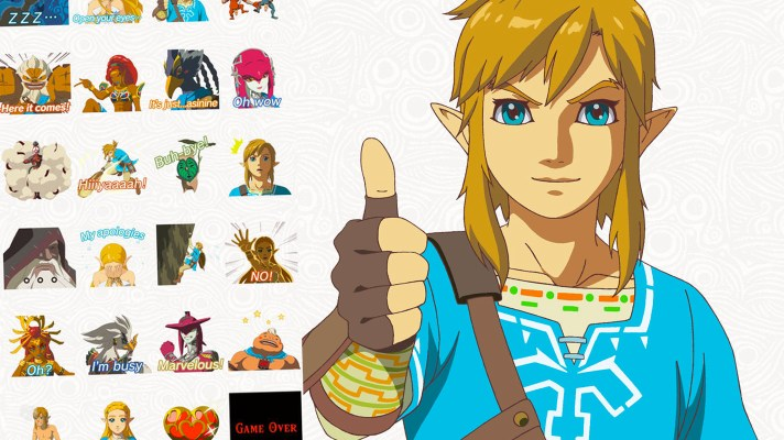 Zelda: Breath of the Wild stickers now available for iMessage