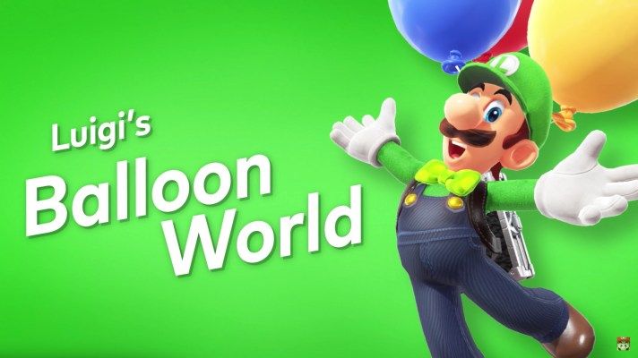 Super Mario Odyssey gets new Luigi's Balloon World online mode, new costumes and filters