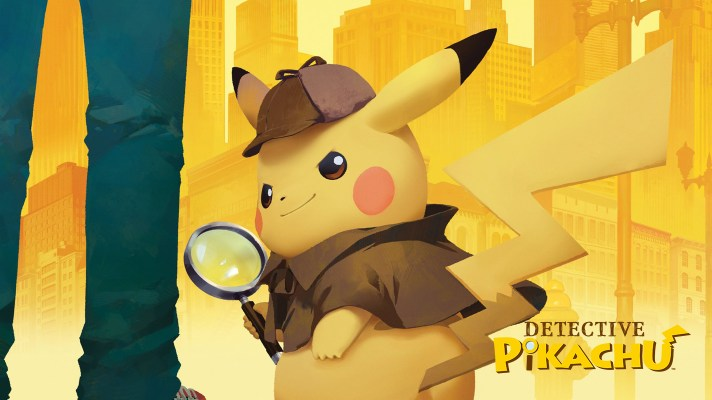 Detective Pikachu arrives on March 24th with jumbo sized Detective Pikachu amiibo