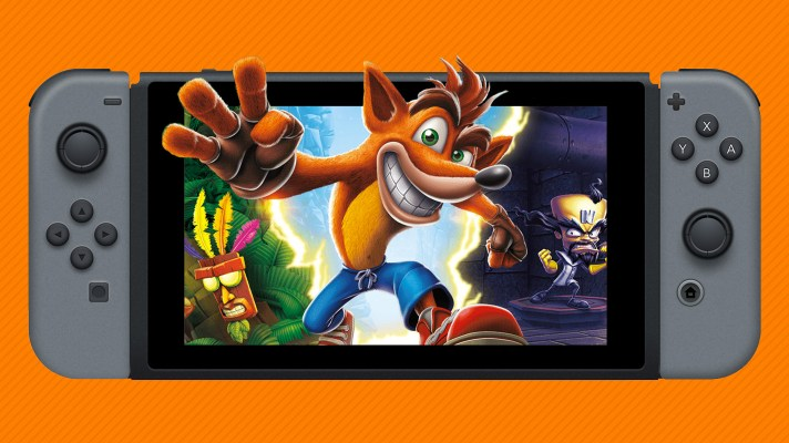 Crash Bandicoot N. Sane Trilogy release date comes forward on Switch