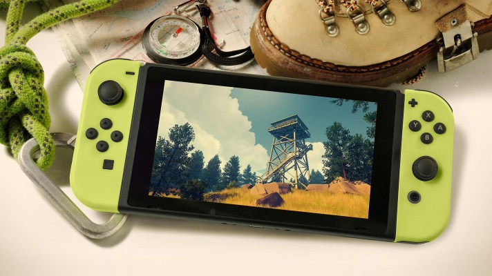 "Firewatch is coming to the Switch ""soon"""