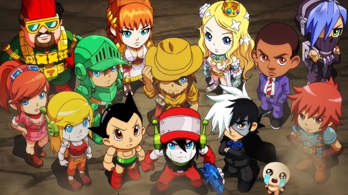 Nicalis announce Crystal Crisis a puzzle-fighter with Isaac, Quote and Astro Boy