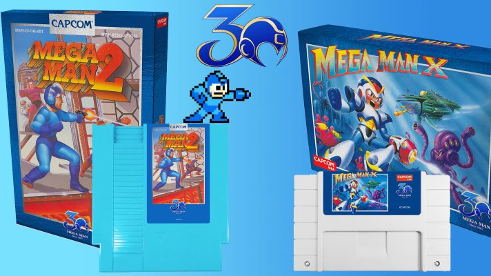 Celebrate the 30th Anniversary of Mega Man with these limited releases
