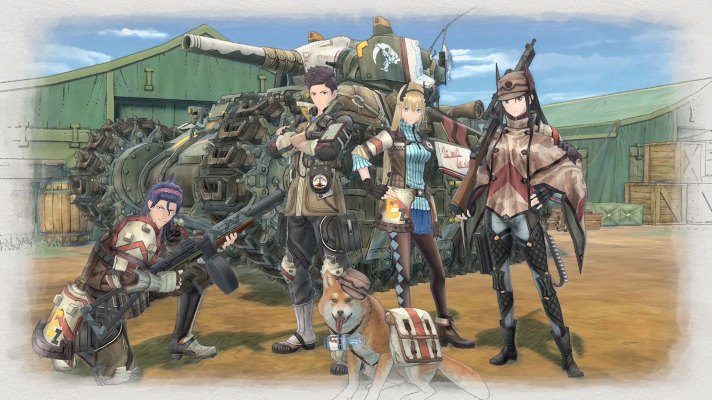 Valkyria Chronicles 4 rolls out a tank of a collectors edition