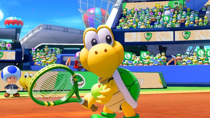 Koopa Troopa now playable in Mario Tennis Aces, single-player & online updated