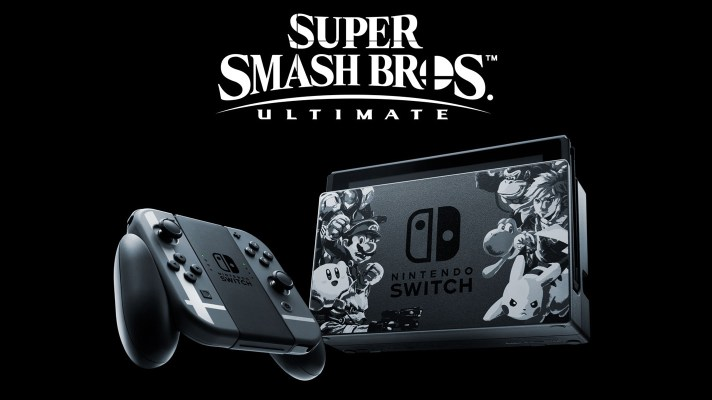Super Smash Bros. Ultimate edition Switch console bundle coming to Australia