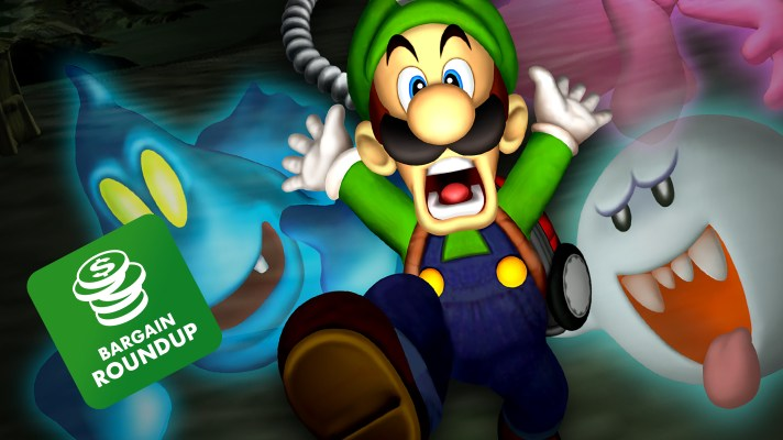 Aussie Bargain Roundup: Luigi's Mansion