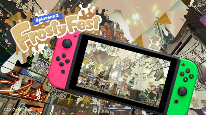 Chillout with Frosty Fest – coming to Splatoon 2