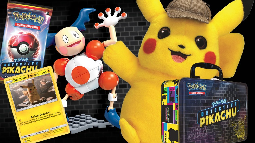 The Detective Pikachu Movie Gets A Huge Range Of Merch And Toys