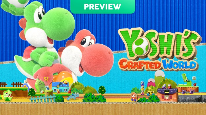 Hands On Preview: Yoshi's Crafted World