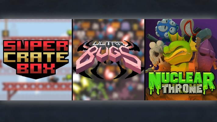 Vlambeer bringing Nuclear Throne, Super Crate Box, and a new project to Switch