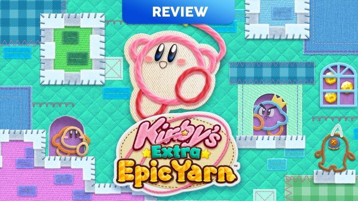 Kirby's Extra Epic Yarn (3DS) Review