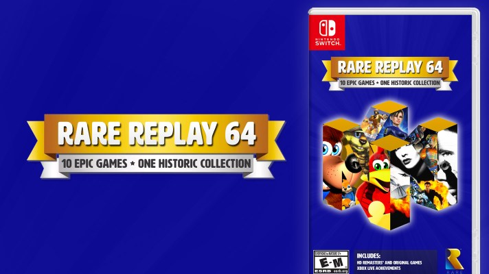 Exclusive: Rare returns to Nintendo with Rare Replay 64 collection – with Goldeneye 007!