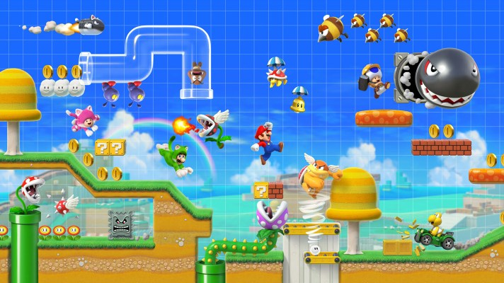 Super Mario Maker 2 has online co-op, a story mode, and so much more