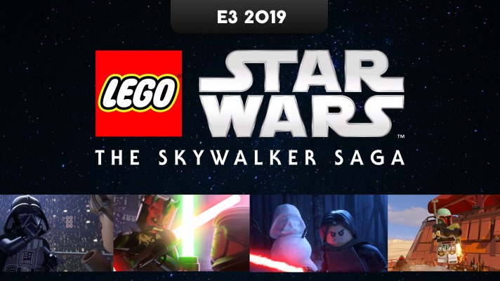 E3 2019: Eyes-on with LEGO Star Wars: The Skywalker Saga