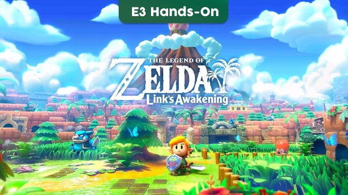 E3 2019: Hands-on with The Legend of Zelda: Link's Awakening