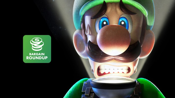 Aussie Bargain Roundup: Luigi's Mansion 3