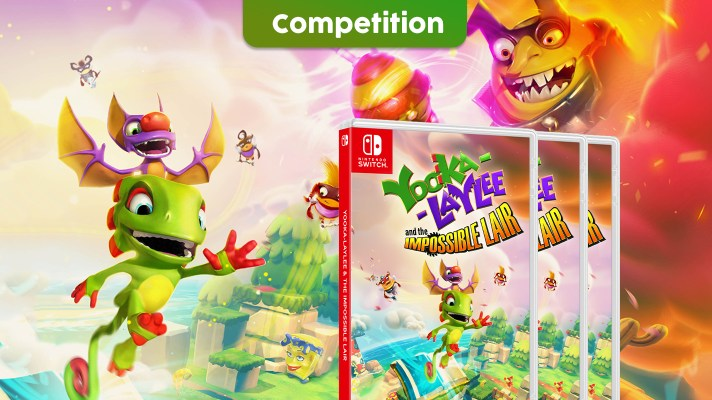 Competition: Three copies of Yooka-Laylee and the Impossible Lair up for grabs